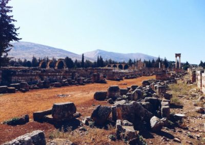 Ruins of Anjar