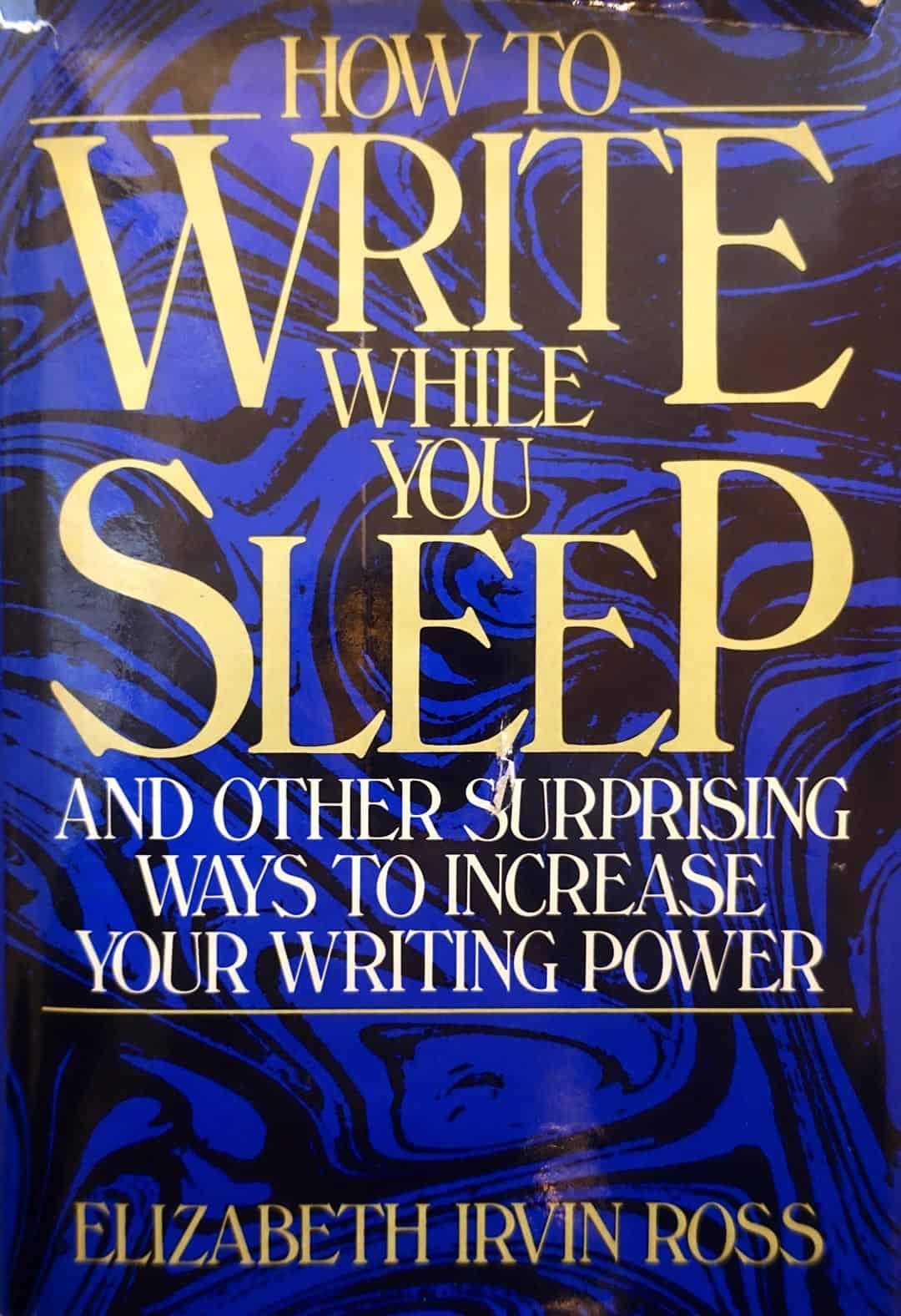 How to write while you sleep
