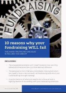 10 reasons why your fundraising will fail