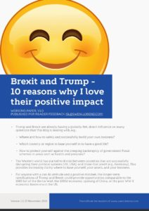 Brexit and Trump - 10 reasons why I love their positive impact cover