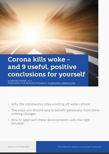 Corona kills woke cover
