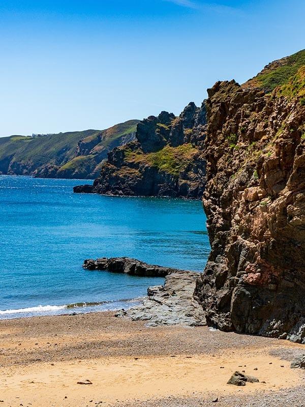 Sark cliffs