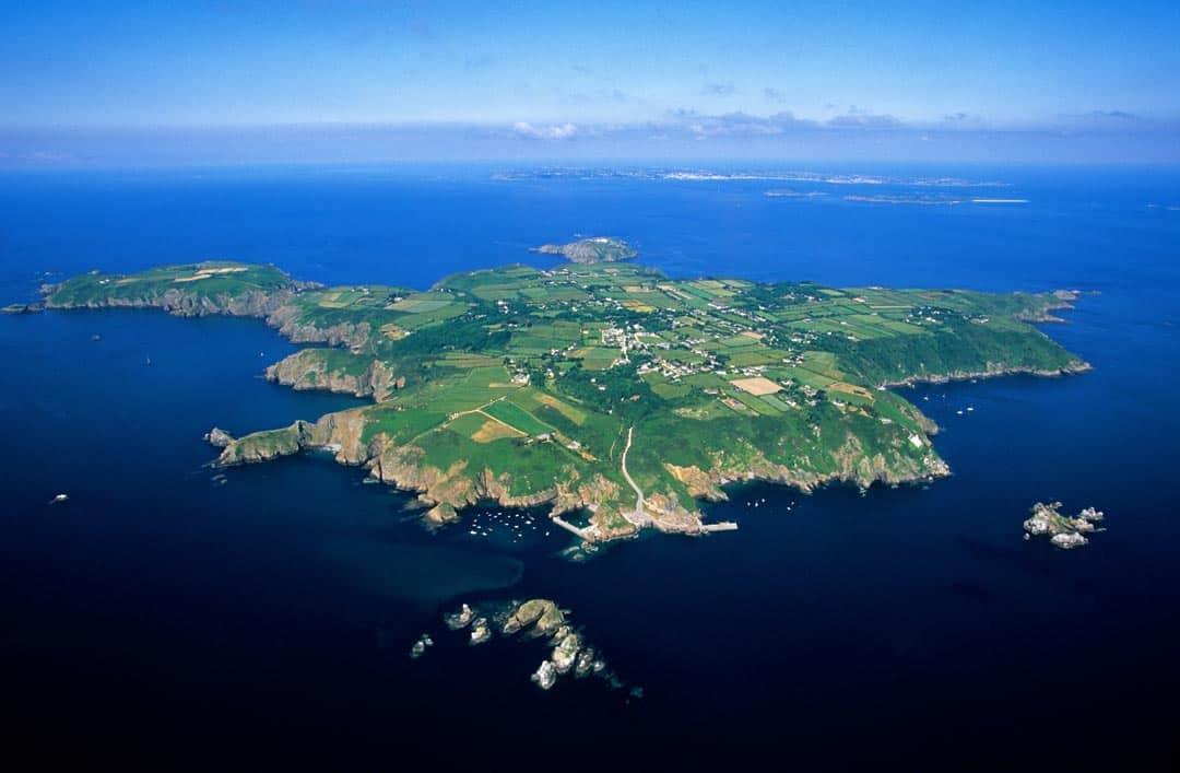 Sark Island aerial