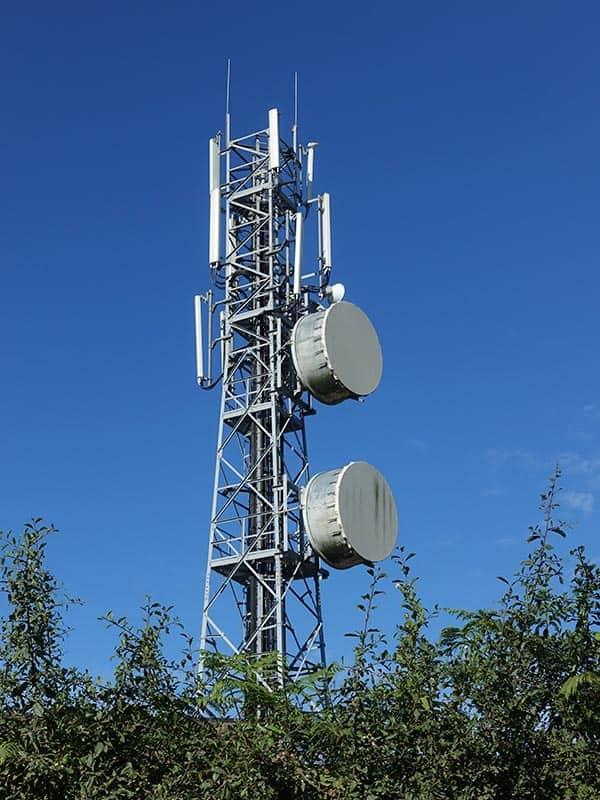 Sark telecom tower