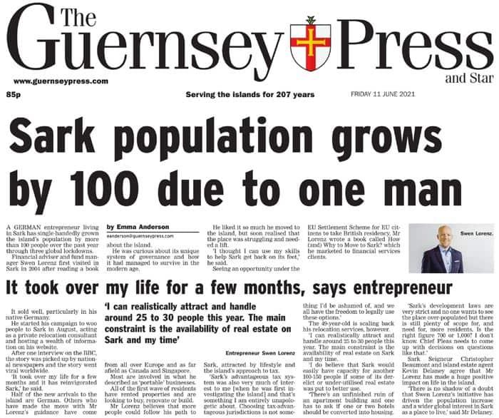 Guernsey Press 2021 06 11